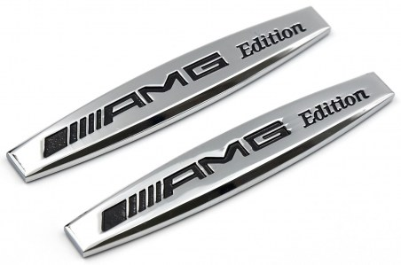 2-x-AMG-EDITION-Badge-Emblem-Sticker-Metal